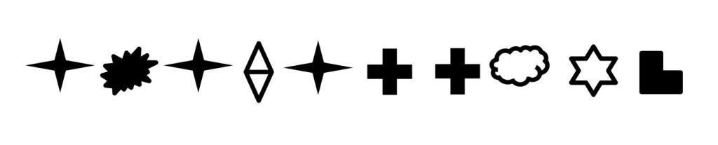 Apagallums símbols (2)