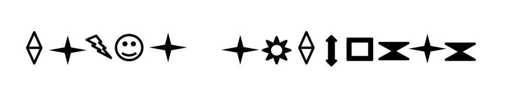 Gavià argentat símbols